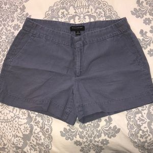 Banana Republic blue-grey linen-blend shorts
